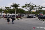 Parkiran Bandara SSK II Pekanbaru hasilkan Rp1 miliar per bulan. Pekanbaru dapat berapa?
