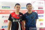 Fajar/Rian akan cari solusi hadapi Astrup/Rasmussen di perempat final Indonesia Masters
