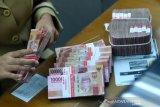 Nilai tukar rupiah melemah saat dimulainya rapat Bank Indonesia