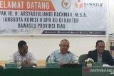 Anggota Komisi II DPR RI pantau kesiapan Bawaslu Riau sambut Pilkada 2020
