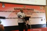 Gubernur Sultra berharap PGRI ciptakan generasi berkualitas-berkarakter