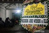 Presiden Jokowi kirim karangan bunga ke rumah duka Ade Irawan