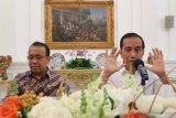 Presiden Jokowi pastikan pemerintah tidak berutang untuk bangun ibu kota baru