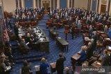 Senat Amerika Serikat bebaskan Trump dari dakwaan pemakzulan