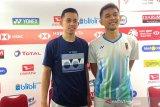 Fajar/Rian terharu dengar suara dukungan penonton saat bertanding Indonesia Masters