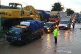 Banjir bandang hambat jalur Pantura Pati tersendat
