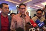 Sandiaga Uno urun saran melakukan audit forensik kasus Jiwasraya
