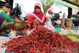 Harga cabai merah keriting  di Baturaja tembus Rp80.000/Kg