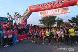 Ribuan peserta ikut lari 10 K  Kodam Sriwijaya
