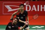 Indonesia unggul 2-1 melalui kemenangan Hendra/Ahsan