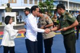 Presiden Jokowi dan Ibu Negara Iriana kunjungan kerja ke Labuan Bajo NTT