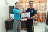 Polairud Polres Merauke terima piagam penghargaan dari SAR