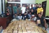 Polisi amankan empat tersangka dan 367 kilogram ganja di Gayo