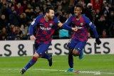 Klasemen Liga Spanyol: Barca ke puncak lagi berkat Messi