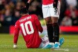 Solskjaer: Rashford dan Pogba diragukan bisa kembali tampil perkuat 'setan merah'