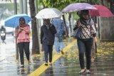 BMKG memprakirakan hujan guyur Yogyakarta dalam beberapa hari ke depan
