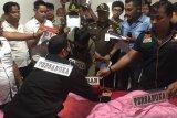 Polisi gelar rekonstruksi tahap tiga pembunuhan hakim Pengadilan Medan Jamaluddin
