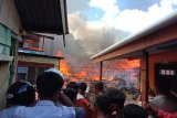 Pasar Batu Tarakan terbakar