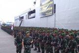 Pangdam Hasanuddin terima 600 personel pascabangun tiga jembatan di Papua