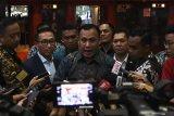 Pimpinan KPK bertemu dengan Komisi III DPR bahas status pegawai