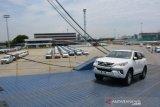 Sepanjang tahun 21029 ekspor Toyota meningkat di tengah krisis ekonomi global