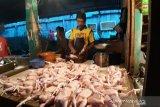 Harga ayam potong murah  jelang Imlek Rp20.000 perkilogaram di Pekanbaru