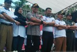 Pilkada 2020 diluncurkan, KPU-Bupati-Ketua DPRD sepakat pilkada aman dan lancar