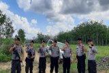 Polres Mesuji patroli di kawasan hutan lindung Register 45 Mesuji