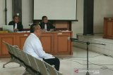 Hakim tolak nota keberatan  Bupati Muara Enim