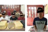 Melintas di Siak, polisi amankan 5,4 Kg Ganja kering