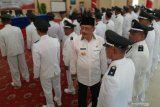 Pelantikan 33 Kepala Desa se-Kabupaten Natuna