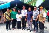 DPRD Kaltara berikan sumbangan pada korban kebakaran pasar Batu
