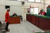 Pengadilan vonis  penjual Kera Owa Ungka 1 tahun 4 bulan penjara