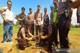 Polisi amankan benda diduga bom rakitan dekat SPBU