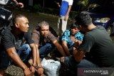 Ini wajah empat pemuda pemerkosa seorang wanita secara bergiliran di Pasaman Barat