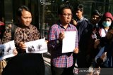 Koalisi Masyarakat Sipil Antikorupsi laporkan Yasonna Laoly ke KPK atas dugaan merintangi penyidikan