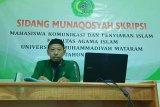Marbot masjid  usia 60 tahun raih gelar sarjana