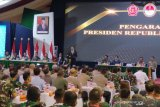Presiden Joko Widodo akan naikkan usia pensiun TNI menjadi 58 tahun