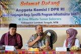 Komisi I DPR minta pemerintah mengatasi blankspot di Lombok sebelum MotoGP
