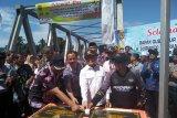 Sugianto resmikan dua jembatan penghubung antar kabupaten di DAS Barito