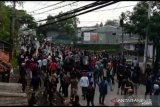Polisi dan TNI jaga ketat perbatasan Sukabumi-Cianjur tempat dua ormas bentrok