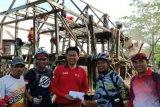 Bedah gubuk reyot Sannari di Bontoa mulai dilakukan