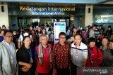 174 turis asal Kunming China tiba di Bandara Minangkabau pada Minggu