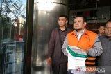 KPK menahan dua tersangka korupsi RTH Pemkot Bandung