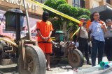 Polda DIY tangkap seorang penambang pasir ilegal di Sungai Progo