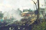 Kebakaran di Barsel hanguskan belasan rumah warga hingga bangunan sarang walet