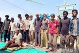 Kapal rusak, 14 warga asal Iran terdampar di perairan Meulaboh Aceh Barat