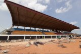 Awal Februari proyek tribun stadion internasional Dompak ditargetkan selesai