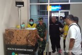Gubernur Sultra tinjau alat deteksi suhu penumpang di Bandara Haluoleo