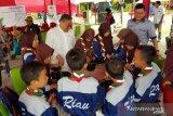 Jaga Bhumi Jaga Wiyata edukasi murid SD di Perawang peduli lingkungan